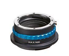 NOVOFLEX Adaptor HAX/NIK Nikon Lenses TO Hasselblad X1D-Cameras