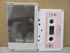 JAPAN ZE18-9016- Roger Wagner Chorale The Negro Spiritual Cassette Salli Terri