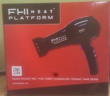 FHI HEAT Platform Pro 1900 Turbo Tourmaline Ceramic Hair Dryer -NEW