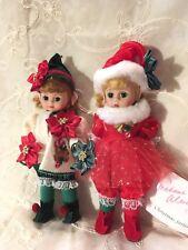 Madame Alexander Wendy Elf & Maggie Elf Lot Of 2 Newly Restrung!!