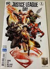 JUSTICE LEAGUE DAY 1 SPECIAL EDITION IVAN REIS GIVEAWAY PROMO VARIANT NM