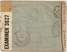1942 English POW of Vichy France held Laghouat Algeria cover->Sussex UK WW2