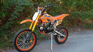 Enduro Cross Vollcross Dirt Bike Pocket Pit 125 12PS !! 125cc 125ccm 17/ 14 Zoll