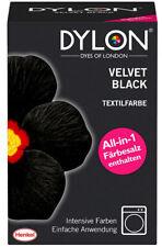 (28,291Kg) Dylon Velvet Black Textilfarbe 350g