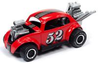 A.S.S NEU Johnny Lightning 1/64 Bug Bomb Beetle VW Käfer Spoilers Street Freaks