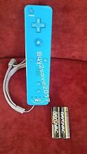 Nintendo Wii U Remote Plus BLUE Official Controller + 2AA batteries