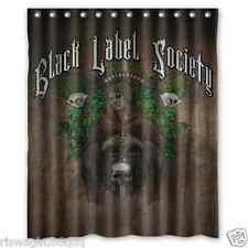New Black Label Society Custom Fabric Shower Curtain 60x72 Inch