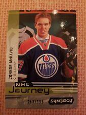 2019-20 Synergy Hockey Connor Mcdavid Nhl Journey /999 Edmonton Oilers