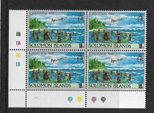 1989 SOLOMON ISLANDS - CHRISTMAS ISSUE - PLATE BLOCK WITH INSCRIPTIONS - MNH.