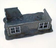 Battlefield Accessories #BA13 15mm Resin Medium Ruined Building - Unpainted