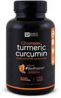 Sports Research Turmeric Curcumin C3 Complex 500 Mg