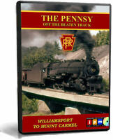 The Pennsy Off the Beaten Track PRR 1950s '60s NEW John Pechulis Train Video DVD