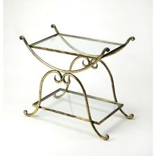 Butler Desdemona Gold Serving Table, Gold - 3904025