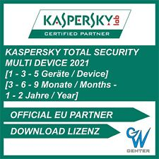 Kaspersky Total Security 2020 / 2021 1 PC | 3 PC | 5 PC | Geräte 1 - 2 Jahre