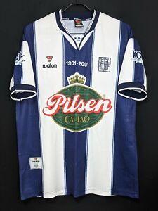 2001 ALIANZA LIMA Football Jersey Soccer Shirt 100th Anniv.