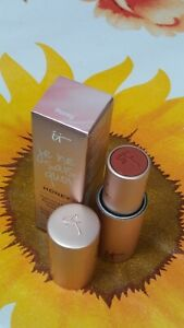 "It Cosmetics JE NE SAIS QUOI Hydrating Color Awakening Lip Treatment ""HONEY""-NIB"