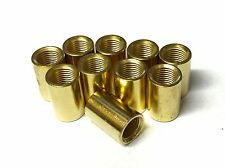 10 x 10mm Brass Barrel Coupler Nipple Lilley 7055 (Quality Brass Product)