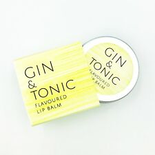 Gin Lip balm - G&T Lip Balm  Gin and Tonic gift Lip protection beeswax