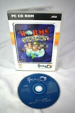 Vintage PC Game Worms: World Party Windows 95/98/Me/XP Sold Out Software PAL