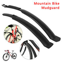 """26""""PEDALPRO CYCLE MUDGUARDS FRONT /& REAR MOUNTAIN BIKE//BICYCLE MUD GUARDS SET US"""