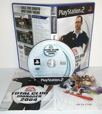 TOTAL CLUB MANAGER 2004 - Playstation 2 Ps2 Play Station Gioco Game Bambini