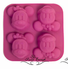 Silicone Minnie Mouse Cupcake Muffin Mold Chocolate Jelly cup Cake Pan Tin Mould