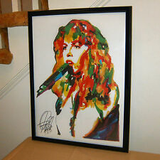 Stevie Nicks Fleetwood Mac Landslide Rock Music Poster Print Wall Art 18x24