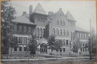 1910 Postcard: Greeley School-Streator, Illinois Ill IL