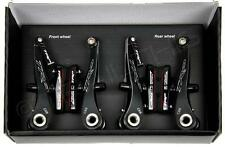 TRP CX9 BLACK Mini-V Brake Set Front and Rear w/ Titanium hardware cyclocross