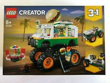 LEGO 31104 Monster Burger Truck CREATOR (3 in1) New & sealed - FREE P+P
