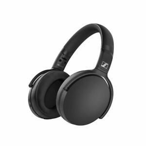 Sennheiser Wireless Over Ear Headphones Black Mic for Back to school Best gifts