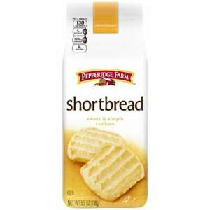 Shortbread Cookies, 5.5 oz. Bag