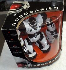 """ROBOSAPIEN WOW WEE TOYS 2004 NEW SEALED MOVING DANCING ROBOT HUMANOID 14"""""""