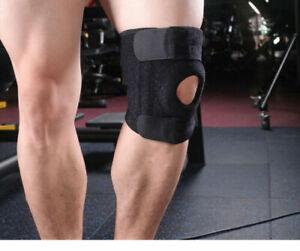 Adjustable Knee Support Open Patella Stabilising Brace Sleeve Running Training