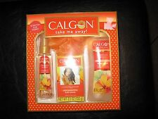 CALGON TAKE ME AWAY HAWAIIAN GINGER or MORNING GLORY(sold out) BATH SET,NIB