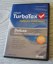 intuit TURBOTAX 2013 Federal & State Returns - Deluxe & Federal E-File