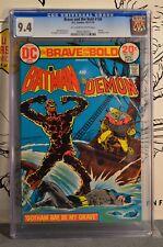Brave and the Bold #109 CGC 9.4 1973 Batman Demon Bondage Cover
