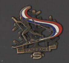 Broche la trace ESF Ecole du Ski Français (signé Decat Paris)