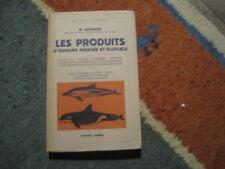 W. BESNARD: les produits d'origine marine et fluviale