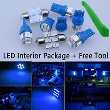 Interior Package Map LED Light Xenon Blue For Chevrolet Tracker + Free Tool PW