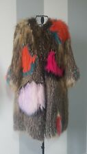 Pelliccia real fur coat woman_ шуба Donna NEW -50% SALE size S/M_ Made in Italy