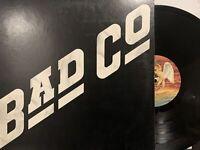 Bad Co – Bad Company LP 1977 Swan Song – SS 8501 Hard Rock VG+/EX