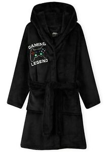 CityComfort Boys Dressing Gown, Gaming Fleece Dressing Gown For Kids