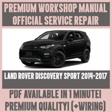 *WORKSHOP MANUAL SERVICE & REPAIR GUIDE for LAND ROVER DISCOVERY SPORT 2014-2017