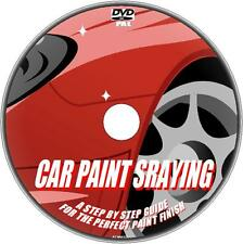 HOW TO SPRAY PAINT YOUR VEHICLE STEP BY STEP GUIDE 2 PERFECT DIY RESPRAY NEW DVD