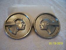 1950 1951 1952 1953 1954 Pontiac Chieftain Rear Quarter Fender Ornaments Emblem