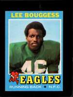 1971 TOPPS #194 LEE BOUGGESS EXMT RC ROOKIE EAGLES  *X3508