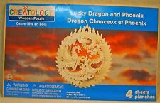 Creatology 3-D Wood Puzzel Lucky Dragon and Phoenix