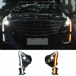 For Cadillac XT5 LED Headlights Projector HID DRL Replace OEM Halogen 2017-2019