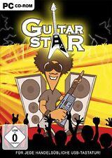 Guitar Star-guitarras karaoke-música juego para PC nuevo/en el embalaje original